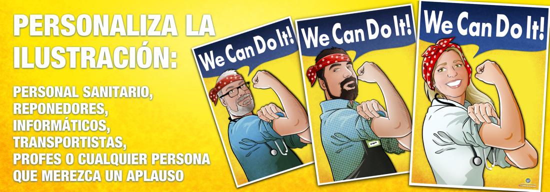 Banner superior 2 - Tú lo pintas todo - Tu Vida en Cómic - Ilustración personalizada